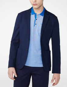 ARMANI EXCHANGE Ponte Knit Blazer Two buttons blazers U f