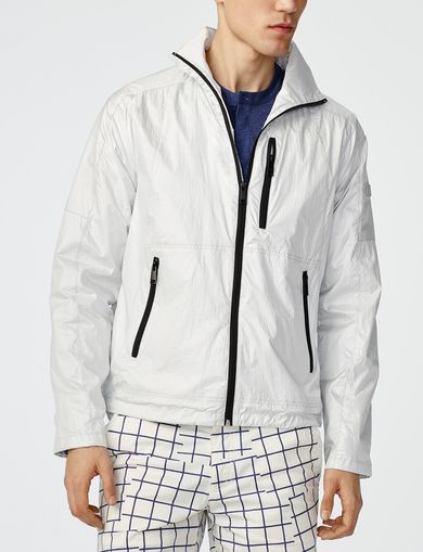 ARMANI EXCHANGE Packable Tech Jacket Man front