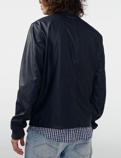 ARMANI EXCHANGE Reversible Moto Jacket Man retro
