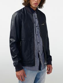 ARMANI EXCHANGE Reversible Moto Jacket Jacket [*** pickupInStoreShippingNotGuaranteed_info ***] d
