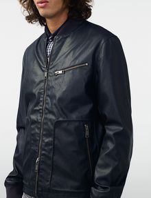 ARMANI EXCHANGE Reversible Moto Jacket Jacket [*** pickupInStoreShippingNotGuaranteed_info ***] e