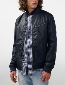 ARMANI EXCHANGE Reversible Moto Jacket Jacket [*** pickupInStoreShippingNotGuaranteed_info ***] f