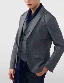 ARMANI EXCHANGE Mini Check Blazer Two buttons blazers Man d