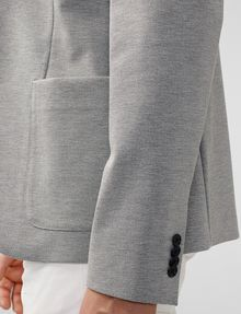 ARMANI EXCHANGE Ponte Knit Blazer Two buttons blazers U d