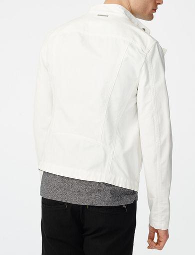 ARMANI EXCHANGE Cotton Moto Jacket Man retro