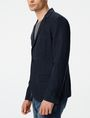 ARMANI EXCHANGE Two-Button Linen Blend Blazer Two buttons blazers Man d