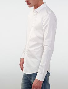 ARMANI EXCHANGE Super-Slim Fit Shirt Long sleeve shirt [*** pickupInStoreShippingNotGuaranteed_info ***] d