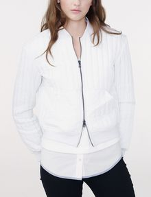 ARMANI EXCHANGE Channel-Quilted Bomber Bomber D f