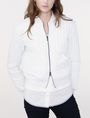 ARMANI EXCHANGE Channel-Quilted Bomber Bomber Woman f