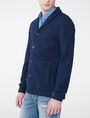 ARMANI EXCHANGE Jacquard Shawl-Collar Cardigan Cardigan [*** pickupInStoreShippingNotGuaranteed_info ***] d