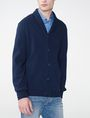 ARMANI EXCHANGE Jacquard Shawl-Collar Cardigan Cardigan Man f