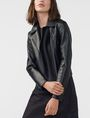 ARMANI EXCHANGE Faux-Leather Moto Moto Jacket D f