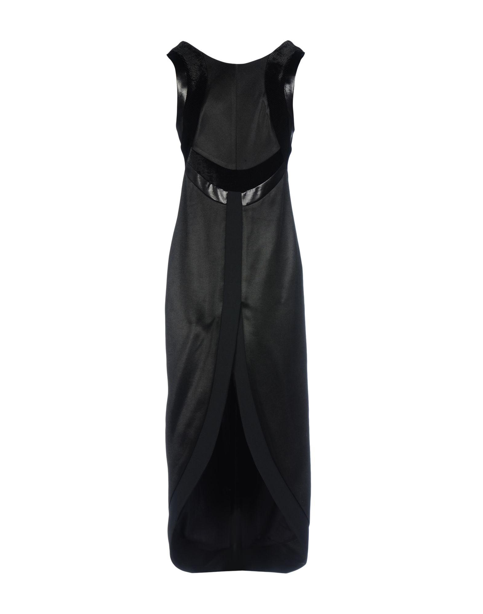 GALVAN  London Длинное платье платье короткое спереди длинное сзади летнее