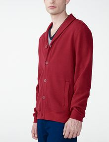 ARMANI EXCHANGE Jacquard Shawl-Collar Cardigan Cardigan Man d