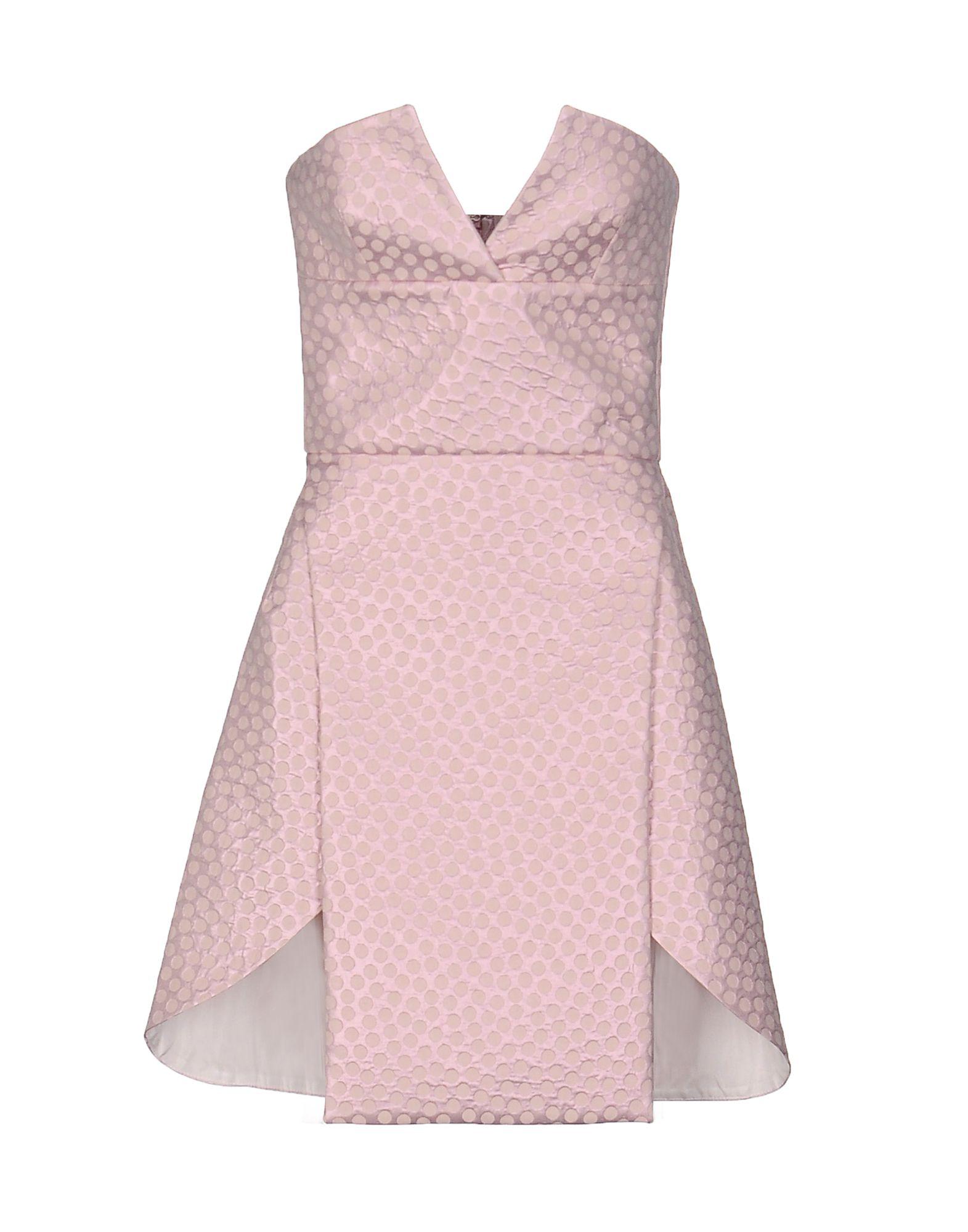 EMILIO de la MORENA Короткое платье цены онлайн