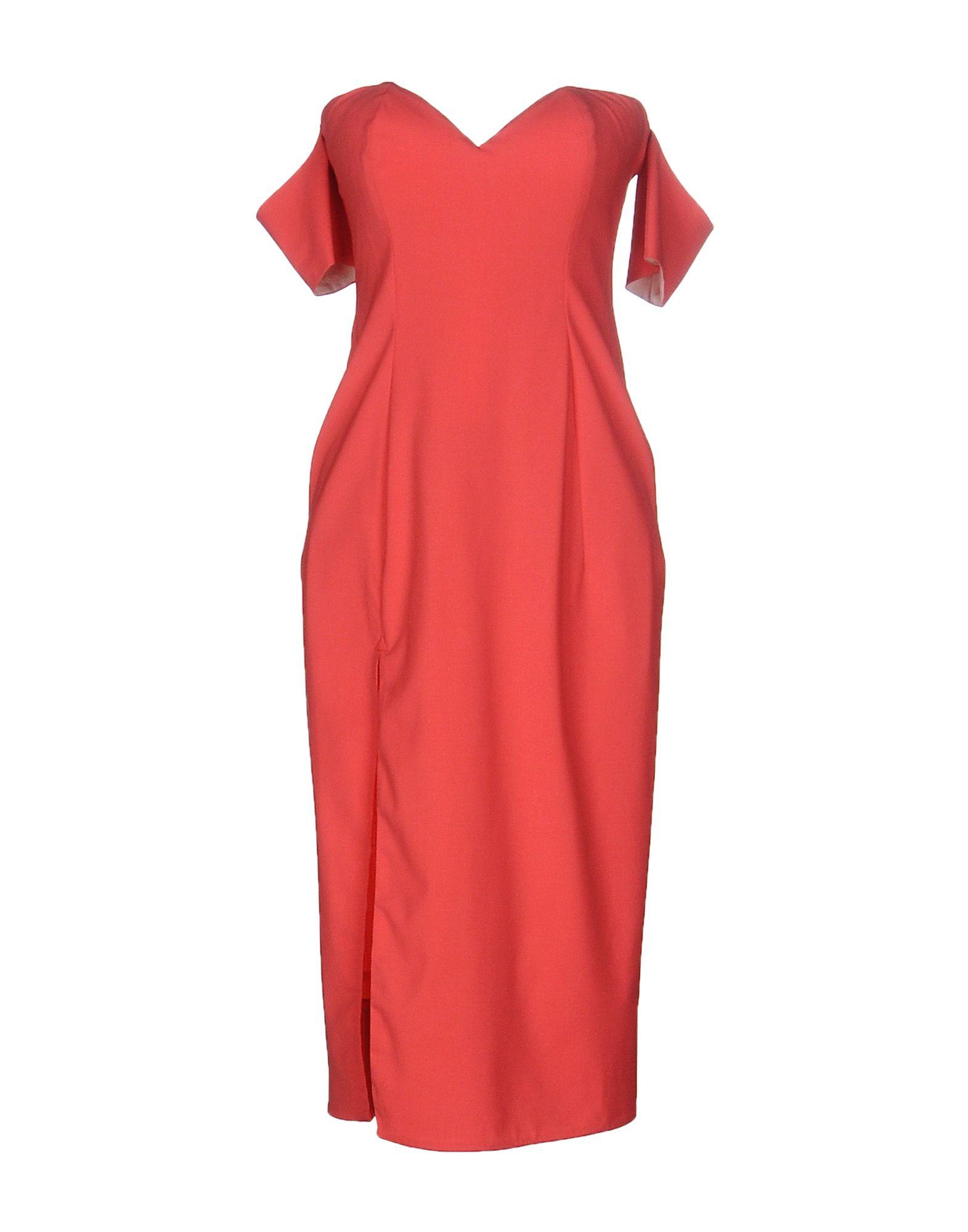 EMILIO de la MORENA Платье до колена цены онлайн