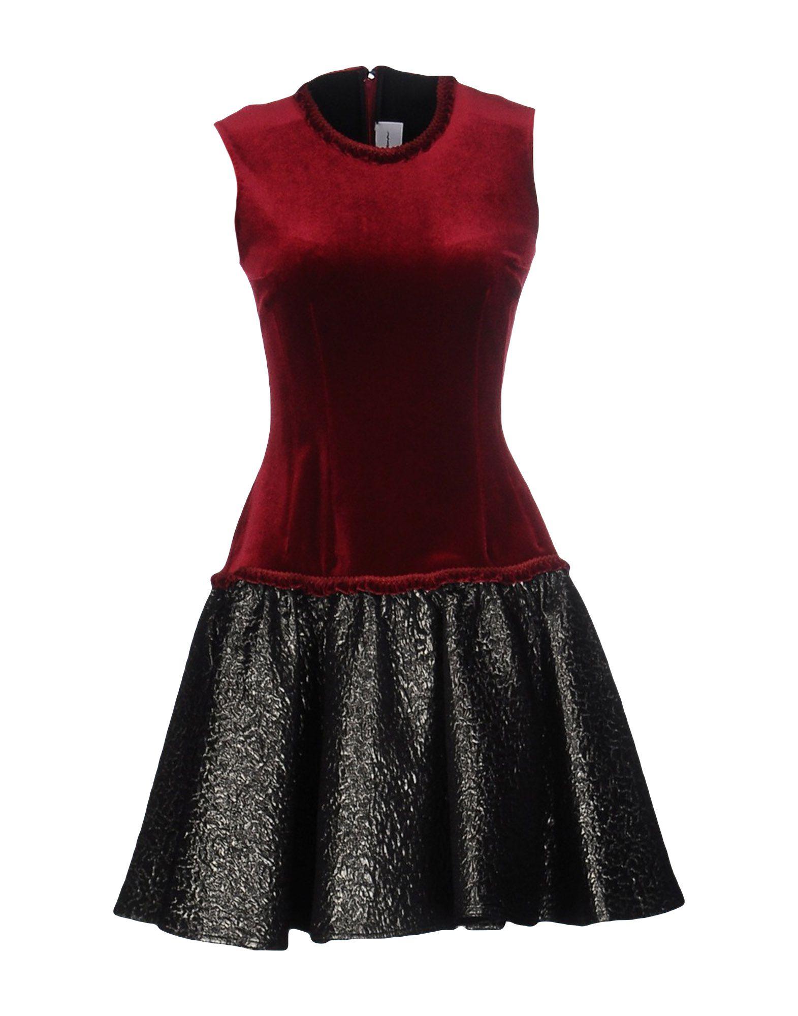 EMILIO de la MORENA Короткое платье