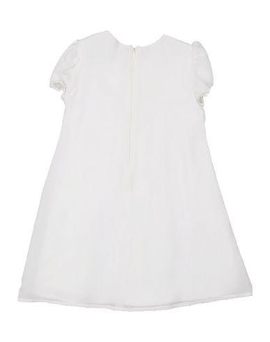 ALVIERO MARTINI 1a CLASSE Baby Kleid Weiß Größe 3 100% Seide