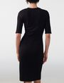 ARMANI EXCHANGE Bodycon Tee Dress Jersey dresses Woman r