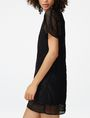 ARMANI EXCHANGE Sheer Lace Tee Dress Long-sleeved dresses Woman d
