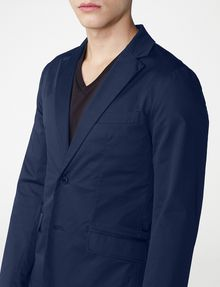 ARMANI EXCHANGE Single-Breasted Blazer Two buttons blazers U e