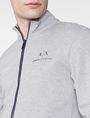 ARMANI EXCHANGE Signature Piping Mockneck Jacket Zip-up U e