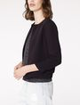 ARMANI EXCHANGE Double-Hem Jacket 3/4 sleeve blazers Woman d