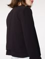 ARMANI EXCHANGE Double-Hem Jacket 3/4 sleeve blazers D e