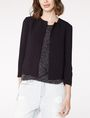 ARMANI EXCHANGE Double-Hem Jacket 3/4 sleeve blazers Woman f