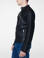 ARMANI EXCHANGE Faux-Leather Tab Moto Moto Jacket U d