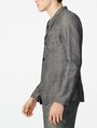 ARMANI EXCHANGE Linen Blend Blazer Three buttons blazers U d