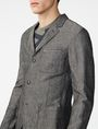 ARMANI EXCHANGE Linen Blend Blazer Three buttons blazers U e
