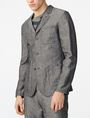 ARMANI EXCHANGE Linen Blend Blazer Three buttons blazers U f