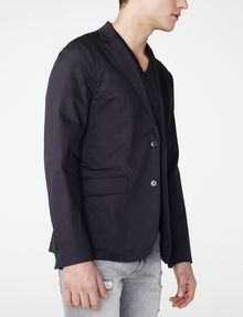 ARMANI EXCHANGE Single-Breasted Blazer Two buttons blazers Man d