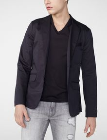 ARMANI EXCHANGE Single-Breasted Blazer Two buttons blazers U f
