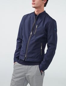 ARMANI EXCHANGE Textured Bomber Jacket Bomber U d