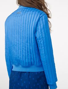 ARMANI EXCHANGE Channel-Quilted Bomber Jacket Woman e