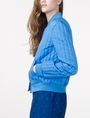 ARMANI EXCHANGE Channel-Quilted Bomber Jacket Woman d