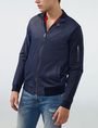 ARMANI EXCHANGE Two-Tone Nylon Baseball Jacket Jacket Man d