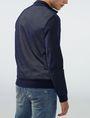 ARMANI EXCHANGE Two-Tone Nylon Baseball Jacket Jacket Man r