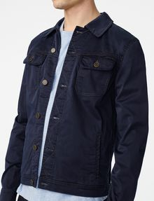 ARMANI EXCHANGE Sleek Trucker Jacket Jacket Man e