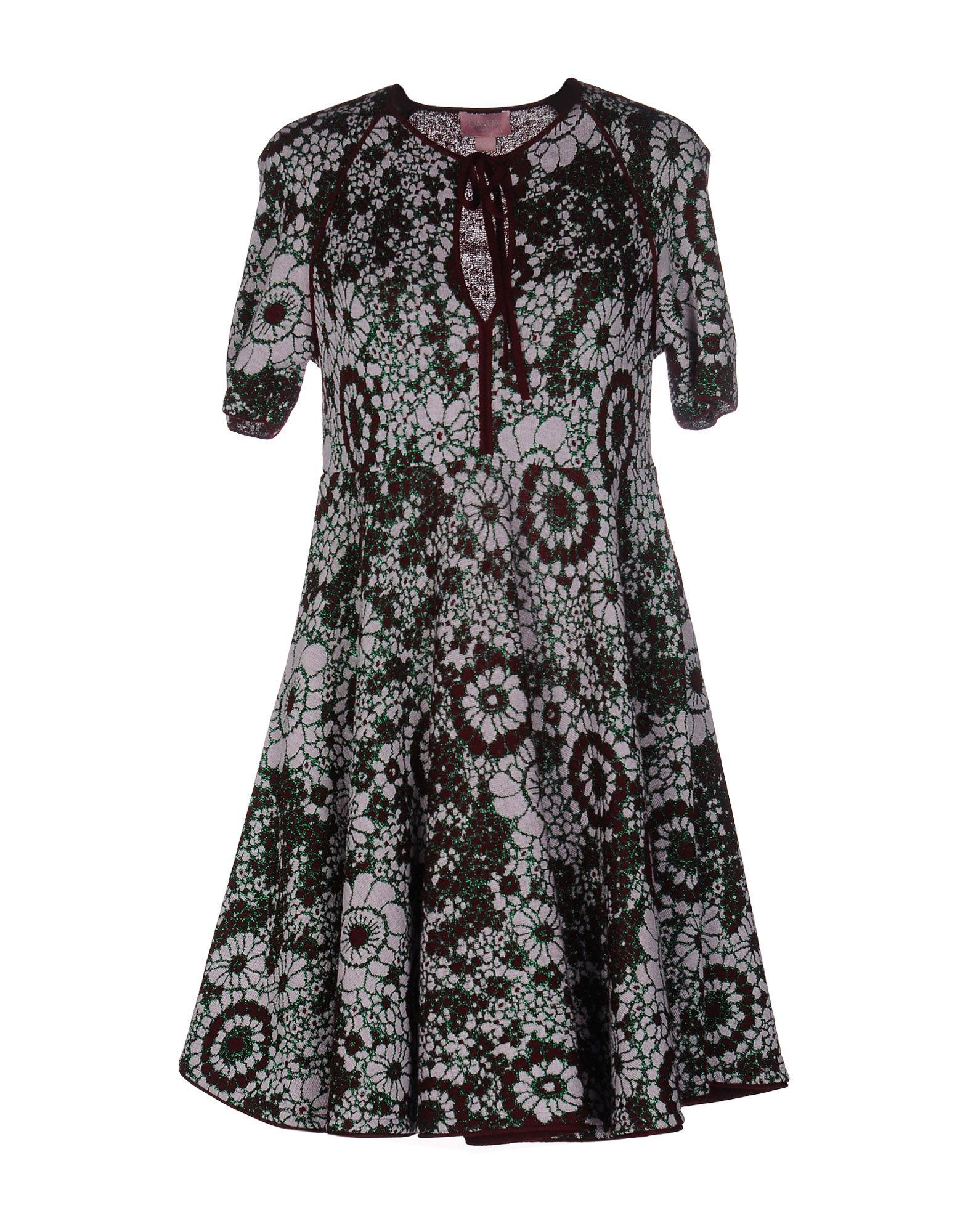 GAMBA Короткое платье a1582lt 1bk gamba настольный светильник