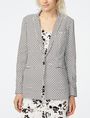 ARMANI EXCHANGE Bold Linen Blazer One button blazers Woman f