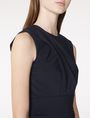 ARMANI EXCHANGE Asymmetrical Draped Sheath Long dresses D e