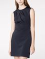 ARMANI EXCHANGE Asymmetrical Draped Sheath Long dresses D f