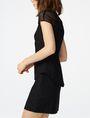 ARMANI EXCHANGE Layered Poplin Shirtdress Long dresses D d