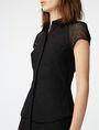 ARMANI EXCHANGE Layered Poplin Shirtdress Long dresses D e