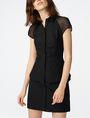 ARMANI EXCHANGE Layered Poplin Shirtdress Long dresses D f