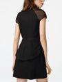ARMANI EXCHANGE Layered Poplin Shirtdress Long dresses D r