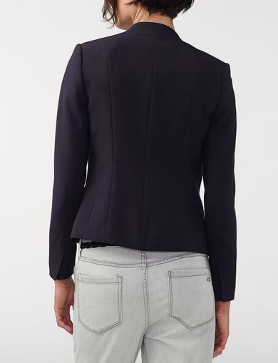 ARMANI EXCHANGE Clean Cropped Blazer Woman retro